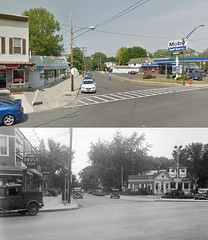 new scotland at quail st  then and now  albany  ny   2103 and 1930s (albany group archive) Tags: new ny st scotland 1930s ave albany then now quail 2103