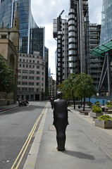 Gormley Parallel Field (1990) 04-Aug-2013 029 (Nozza Wales) Tags: city london antony gormley cityoflondon antonygormley stmarysaxe parallellines1990