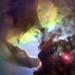 Giant Twisters in the Lagoon Nebula