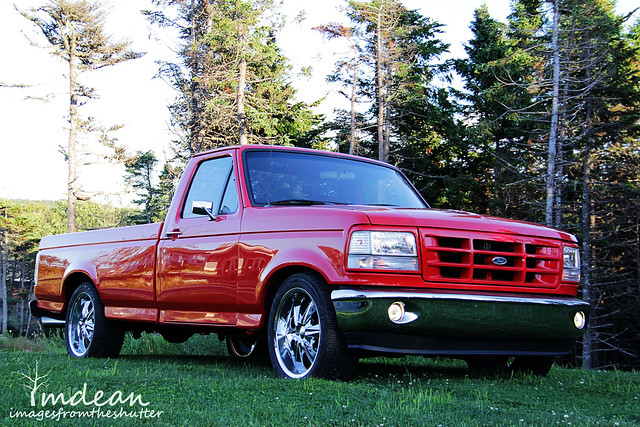red ford f150 modified 1994 newfoundlandandlabrador
