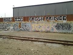 Mike tie fresh prince resek swrv graffiti (jitterbug69) Tags: mike graffiti oakland tracks tie prince fresh swrv resek flickrandroidapp:filter=none