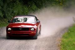 2008 Ford Mustang Convertible (WabbyTwaxx) Tags: road ford driving convertible dirt mustang dust 2008