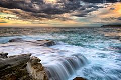 Tramonto I (Crouchy69) Tags: ocean sunset seascape pool landscape coast nikon dusk sydney australia lee nikkor filters maroubra mahon d800 1635mm