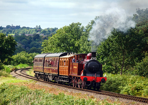 A most welcome visitor (geoffspages) Tags: railway steam metropolitan severnvalley