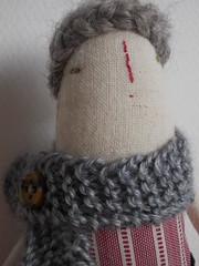 Pegs (Maidolls) Tags: art doll handmade folk ooak fabric knitted