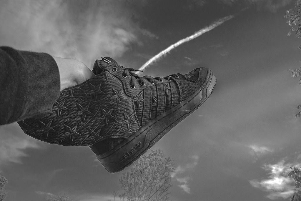 75e8e327ac2b Adidas Originals x Jeremy Scott x ASAP ROCKY - BLACK FLAG (chunglee CL)  Tags