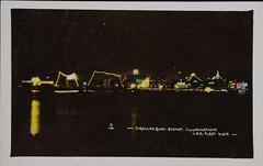 USA Fleet visit, Circular Quay, Sydney illuminated