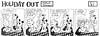 Holiday Out 811 (Michael Vance1) Tags: art comics monkey panda artist satire humor jungle comicbooks parody comicstrip cartoonist funnyanimals