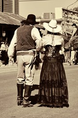 Out for a Stroll (Trudy -) Tags: cowboy texas bandera western