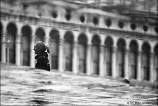 Acqua alta a Venezia - Riflessi