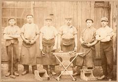 R. Baird blacksmith (El llano Galvín) Tags: du visite carte vintagephotographs vintagephotography