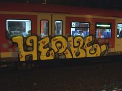 HERBE (mkorsakov) Tags: train graffiti zug colored piece sbahn dortmund bunt herbe s2 mengede