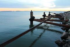 On the last shore 2 (Lauri Laurn) Tags: sea finland helsinki balticsea shore laurilaurn