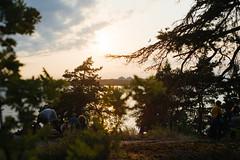 (Lauri Hannus) Tags: sunset sea green june youth drunk finland 50mm helsinki midsummer getting nikkor 18 juhannus pihlajasaari 2013 d700