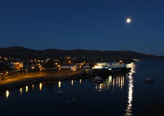 Moonlit Ferry, Tarbert, North Harris - Gordon Macdonald