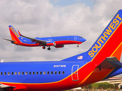O20131123-230932-1 (amcripps57) Tags: airport aircraft southwestairlines b737 kfll fortlauderdaleinternational