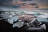 [ ... the apparition ] (D-P Photography) Tags: sunset sun black ice beach canon island iceland mood nd iceberg eis eisberg austurland jökulsarlon ndgrad leefilters sacrednature dpphotography breidamerkursandur