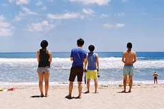 On The Beach (a l e x . k) Tags: bali film beach indonesia pentax mx kuta fa43mmf19