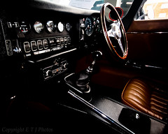 e type Jaguar interior (eddiestannes1) Tags: jag jaguar etype