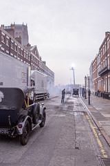 BBC Two's Peaky Blinders set