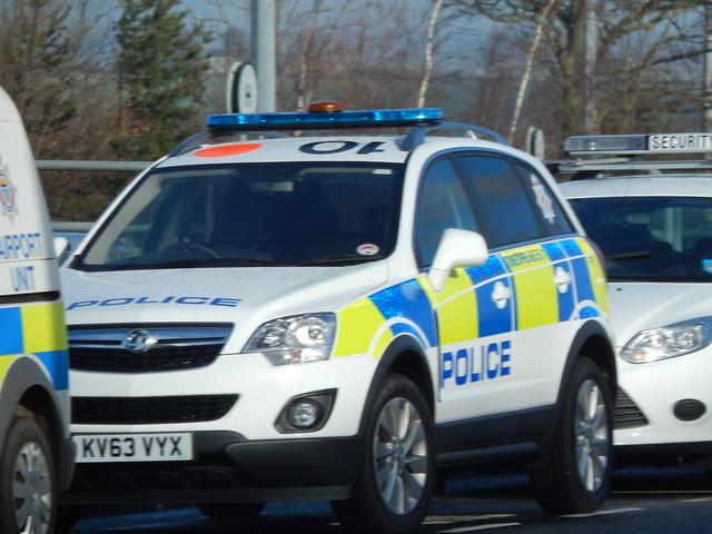 police northumbria vauxhall kv63vyx