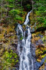 Bridal Veil Falls (stephencurtin) Tags: california county trees water rock landscape waterfall veil el falls spray roadside bridal dorado thechallengefactory