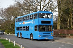 M695TDB, Lytham 17/03/14 (MCW1987) Tags: bus dragon kenya service dennis stagecoach manchetser 15195 duple metsec m695tdb