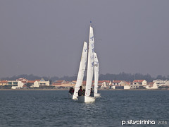 2014 RegionalVaurien CVCN (78) (Paulo Silveirinha) Tags: portugal water boats sailing barcos regattas riadeaveiro costanova vaurien