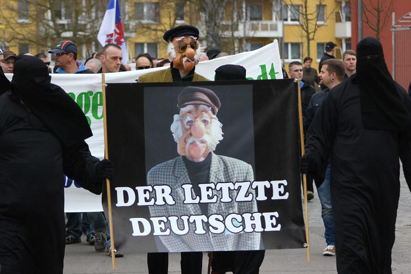 Bildergalerie NPD-Demo Ueckermünde