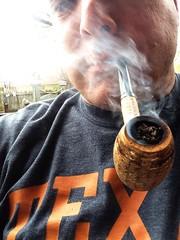 Smoking Pipe (stewbphoto) Tags: man corn texas masculine manly pipe smoking smoker cob tobacco corncob pipesmoker pipesmoking virile