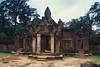 Banteay Srei - Main Entrance (Drriss & Marrionn) Tags: travel cambodia southeastasia shiva stonecarvings hindutemple banteaysrei archeologicalsite khmerart citadelofwomen