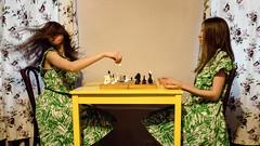 the game (Maria Nenenko) Tags: idea concept conceptual marinino marininoart fineartart portrait game play chess russia saintpetersburg hands philosophy best mood style 2017 beauty rmotion beautiful selfportrait room vintage oldstyle conceptphotos