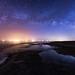 Milky Way Over the Salton Sea