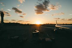 scottsdale, az (jayelyse) Tags: travel scottsdale arizona airport phoenix sunset american airlines