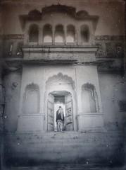 India series (Nick Kenrick..) Tags: india rajasthan pushkar hindu door temple