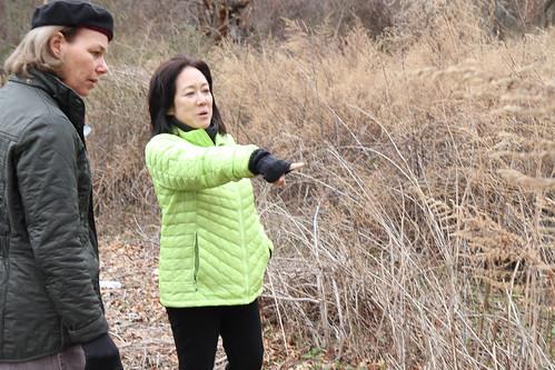JHC Board Member Liz Garrett and Meadow Expert Tama Matsuoka Wong