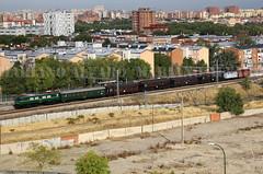 289.015 16.10.2016 (Mariano Alvaro) Tags: tren fresa renfe 289 mitsubishi aranjuez madrid coches costas j furgon