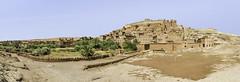 Ksar Ait Ben Hadu (Ouarzazate, Morocco) (GC - Photography) Tags: ksaraitbenhadu ouarzazate marruecos morocco maroc kasbah nikon d5100 gcphotography uarzazate panoramic landscape pano paisaje