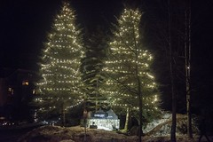 20170323_0077_1 (Bruce McPherson) Tags: brucemcphersonphotography lowlight nightphotography coloredlights whistlerbynight winter spring snow whistler bc canada whistlervillagenorth whistlernorthvillage