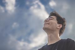 (Elena Candeliere) Tags: sky friend clouds puglia boy gravina smile canon eos 50mm city town
