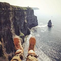 the cliff (doistrakh) Tags: cliffsofmoher cliff travel europe ireland countyclare sony rx100m4 atlanticocean wildatlanticway vscocam vsco