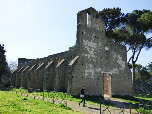 Rome - via appia antica, Chiesa di San Nicola a Capo di Bove (2)