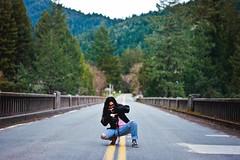 (brittani m.) Tags: humbolt humboltcounty nature norcal california travel explore redwoods trees bridge roadtrip girl squat adventure 2017