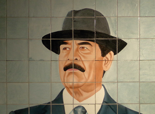 From flickr.com: Saddam Hussein {MID-213638}