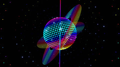 Saturn Disco Sphere Looping Animation (globalarchive) Tags: seamless electric pattern art dj experiment party dance star fx disco fractal power tech beautiful futuristic techno universe cool render fantasy awesome dream digital 80s specialty concept ball retro animated looping virtual best effects modern 3d geometric animation imagination 70s outerspace abstract amazing sphere design saturn creative space energy loop