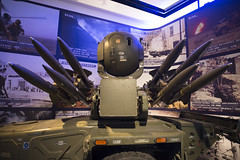National Army Museum 21-4-17 - 15 Rapier system (Mac Spud) Tags: london war museum military missile defence technology