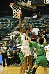 WBasketball-vs-North Texas, 1/26, Chris Crews, DSC_5118 (PsychoticWolf) Tags: 49ers basketball charlotte cusa d1 green mean ncaa ninermedia north nt texas unc uncc unt womens