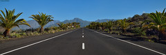 The Road. (Carlos Arriero) Tags: lapalma españa road carretera islascanarias spain nikon tamron 2470f28 carlosarriero composición composition landscape paisaje outdoor panorámica panoramic viajar travel color colors colour diagonal perspectiva puntodefuga