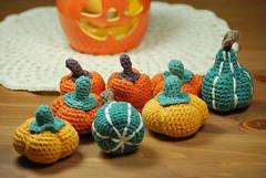 Calabazas (La Borda del Crochet) Tags: amigurumi dropssafran algodón crochet handmade