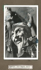 BECKMANS, José, Rigoletto, Opéra de Paris, 1942 (Operabilia) Tags: claudepascalperna operabilia goldenage opera autograph autographe opéradeparis opéracomique rigoletto verdi josébeckmans director baritone dominiquejpréaux lirica dominiquepréaux